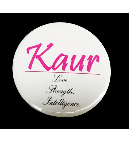 Kaur Love Badge