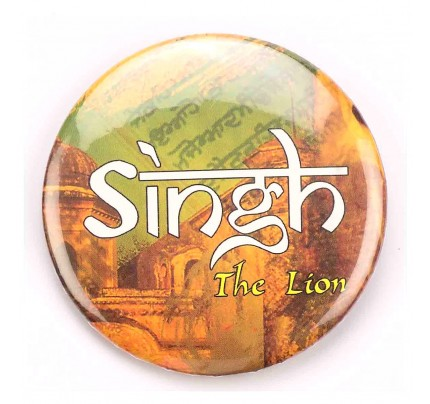 Singh - The Lion -  Badge